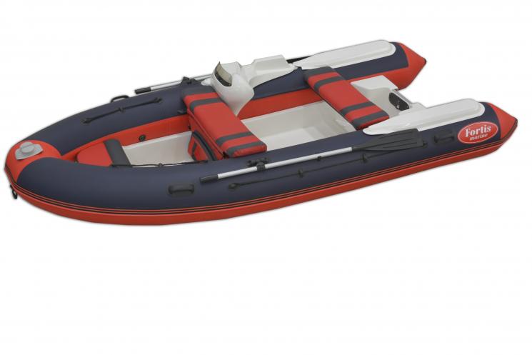 Лодка РИБ FORTIS 390 с консолью купить недорого с доставкой - Москва