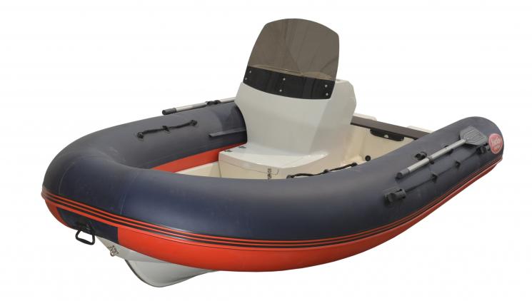 Лодка РИБ FORTIS 430 с консолью купить недорого с доставкой - Москва